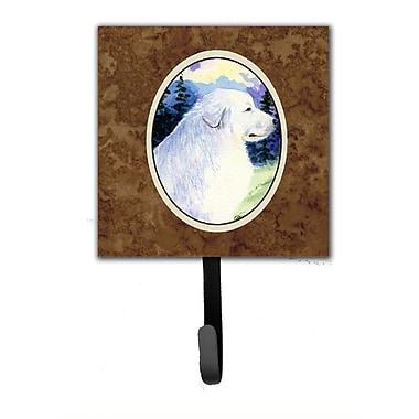 Caroline's Treasures Great Pyrenees Leash Holder and Key Hook