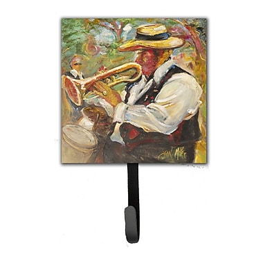 Caroline's Treasures Jazz Trumpet Leash Holder and Key Hook