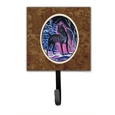 Caroline's Treasures Starry Night Cane Corso Leash Holder and Wall Hook