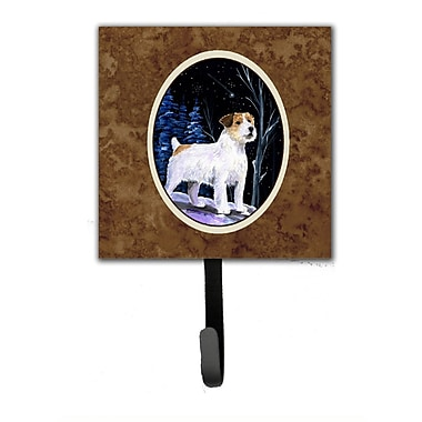 Caroline's Treasures Starry Night Jack Russell Terrier Leash Holder and Wall Hook