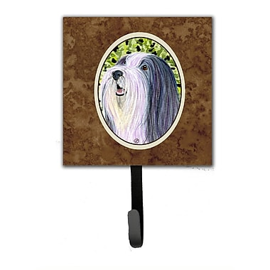 Caroline's Treasures Bearded Collie Leash Holder and Wall Hook