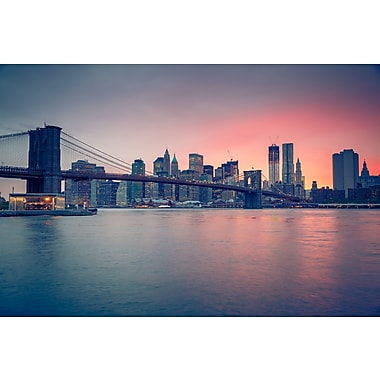 3 Panel Photo Down Town NYC Photographic Print on Canvas