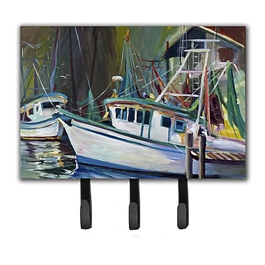 Caroline's Treasures Joe Patti Shrimp Boat Key Holder