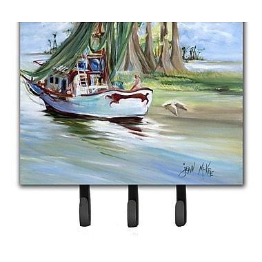 Caroline's Treasures Jeannie Shrimp Boat Key Holder