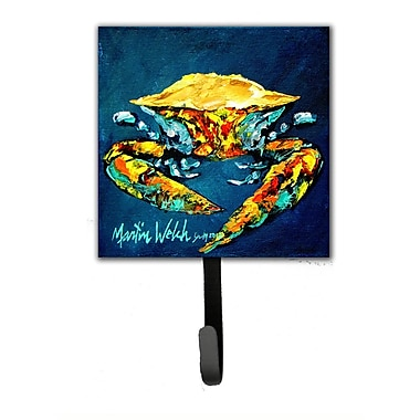 Caroline's Treasures Crab Catch Up Wall Hook