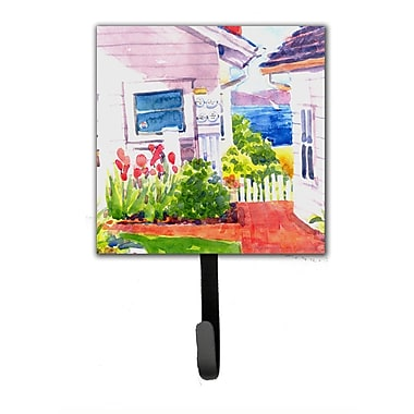 Caroline's Treasures Beach View Between The Houses Leash Holder and Wall Hook