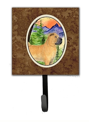 Caroline's Treasures Shar Pei Leash Holder and Wall Hook