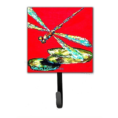 Caroline's Treasures Dragonfly Shoo-Fly Leash Holder and Wall Hook