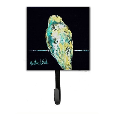 Caroline's Treasures Bird Not My Problem Leash Holder and Wall Hook
