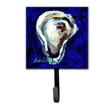 Caroline's Treasures Oyster One Shell Leash Holder and Wall Hook