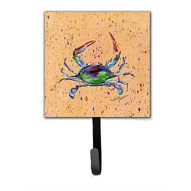Caroline's Treasures Crab Leash Holder and Wall Hook