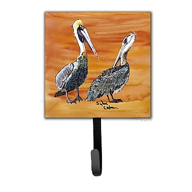 Caroline's Treasures Pelican Bird Leash Holder and Wall Hook
