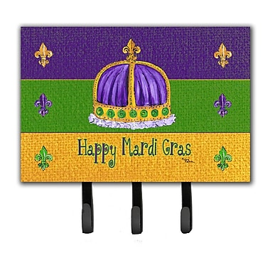 Caroline's Treasures Mardi Gras Key Holder