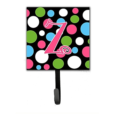 Caroline's Treasures Monogram Polkadot Wall Hook; Z