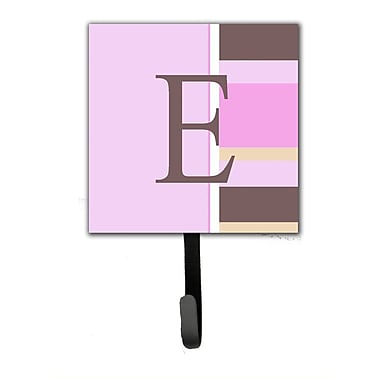 Caroline's Treasures Monogram Stripes Wall Hook; E