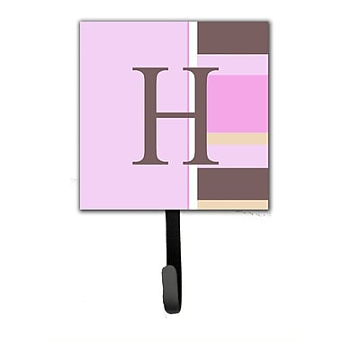 Caroline's Treasures Monogram Stripes Wall Hook; H