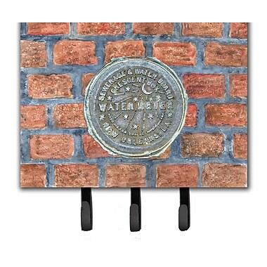 Caroline's Treasures New Orleans Watermeter on Bricks Leash and Key Holder