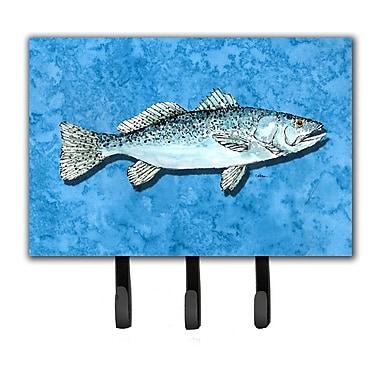 Caroline's Treasures Trout Fish Leash Holder and Key Hook