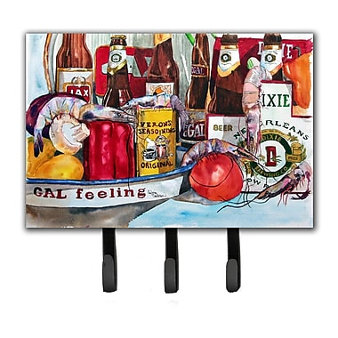Caroline's Treasures Veron's and New Orleans Beers Key Holder