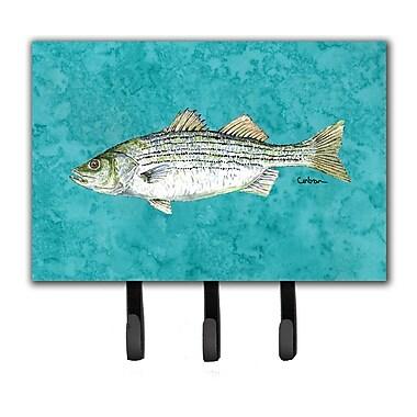 Caroline's Treasures Striped Bass Fish Key Holder