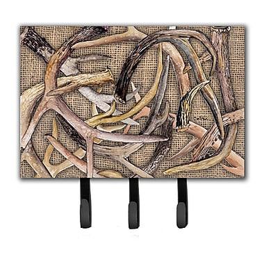 Caroline's Treasures Deer Horns Key Holder
