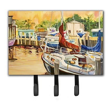 Caroline's Treasures Sunset Bay Sailboat Key Holder