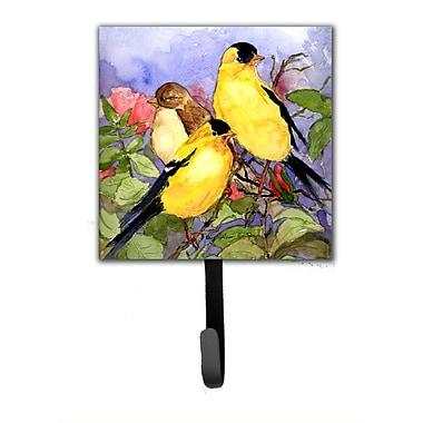 Caroline's Treasures American Goldfinch Bird Leash Holder and Wall Hook