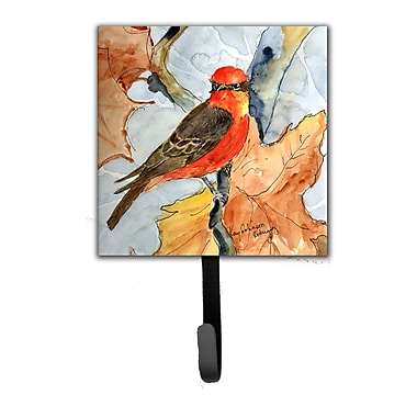 Caroline's Treasures Verimillion Flycatcher Bird Leash Holder and Wall Hook