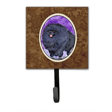 Caroline's Treasures Pomeranian Leash Holder and Wall Hook