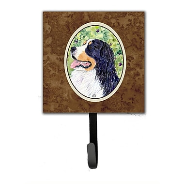 Caroline's Treasures Bernese Mountain Dog Leash Holder and Wall Hook