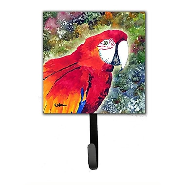 Caroline's Treasures Parrot Leash Holder and Wall Hook