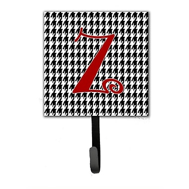 Caroline's Treasures Monogram Houndstooth Wall Hook; Z