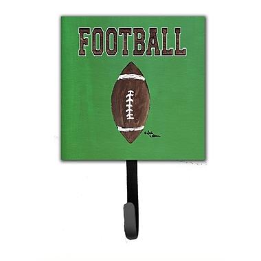 Caroline's Treasures Football Leash Holder and Wall Hook