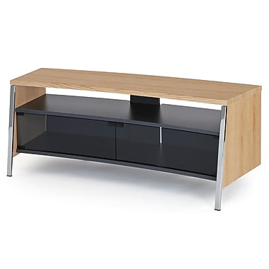 Off The Wall Tangent 51'' TV Stand; Oak