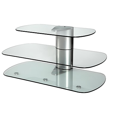 Off The Wall Skyline 39'' TV Stand; Silver