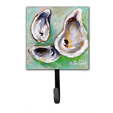 Caroline's Treasures The Eye of The Oyster Leash Holder and Wall Hook