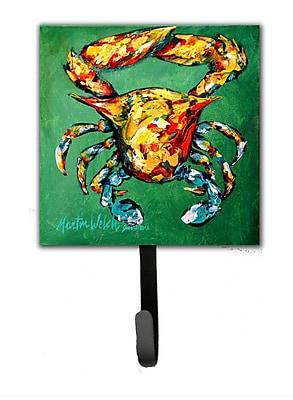 Caroline's Treasures Crab Two Snaps Leash Holder and Key Hook