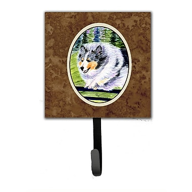 Caroline's Treasures Sheltie Leash Holder and Wall Hook