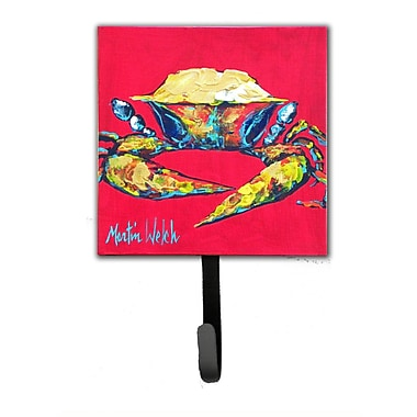 Caroline's Treasures Crab One Leash Holder and Wall Hook