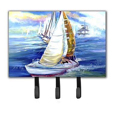 Caroline's Treasures Rock My Boat Sailboats Key Holder