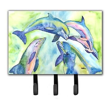 Caroline's Treasures Dolphin Leash Holder and Key Hook
