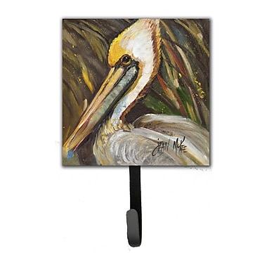 Caroline's Treasures Pelican Lookin East Leash Holder and Wall Hook