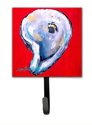 Caroline's Treasures Oyster Wiggle My Shell Leash Holder and Wall Hook