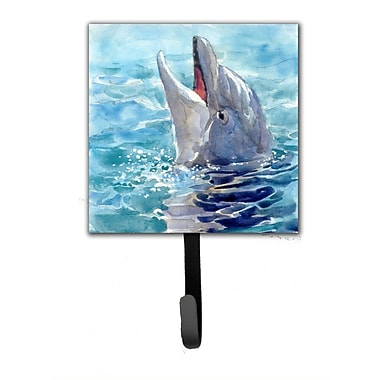 Caroline's Treasures Dolphin Leash Holder and Wall Hook