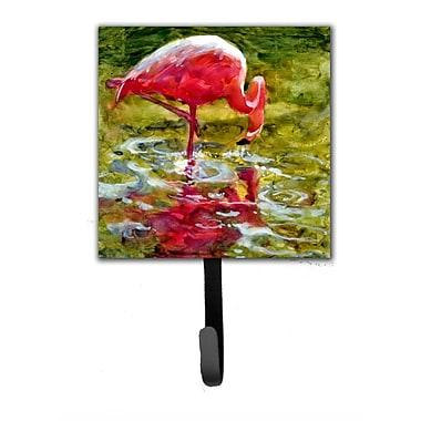 Caroline's Treasures Flamingo Leash Holder and Wall Hook