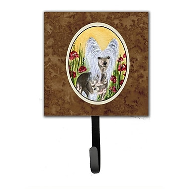 Caroline's Treasures Chinese Crested Leash Holder and Wall Hook