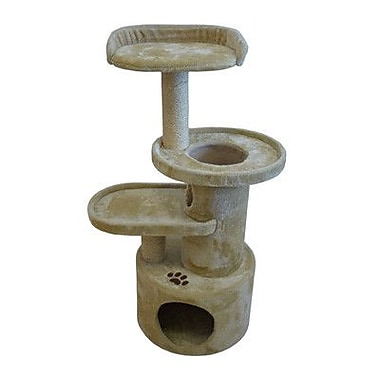 Iconic Pet 41'' Dual Post Cat Tree Condo