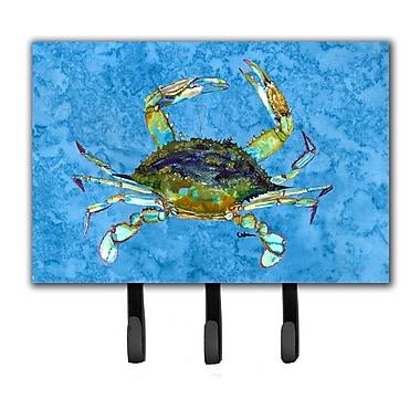 Caroline's Treasures Crab Leash Holder and Key Hook