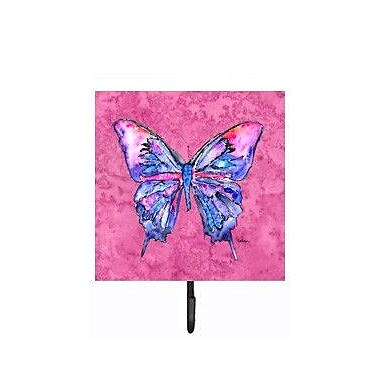 Caroline's Treasures Butterfly Leash Holder and Wall Hook