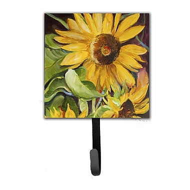 Caroline's Treasures Sunflowers Leash Holder and Wall Hook